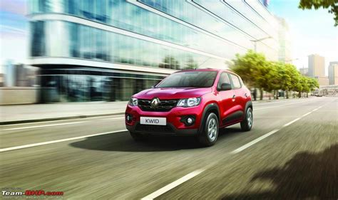 renault kwid jacked up city car unveiled in india priced renault s kwid entry level hatchback unveiled edit now