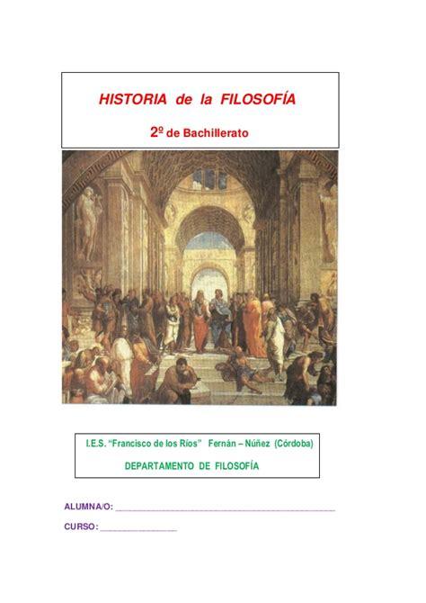 historia de la filosofia 8467036001 historia de la filosof 237 a 2