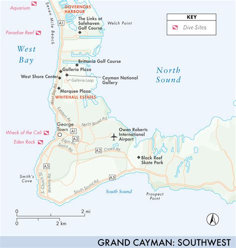 grand cayman map map of grand cayman grand cayman fodor s travel guides