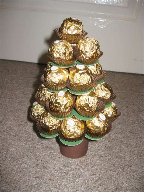 diy ferrero rocher tree mini ferrero tree calender crafts diy