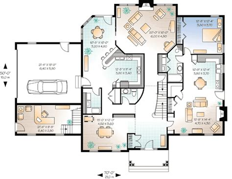 Home Office Layout Floor Plan The Ultimate 2 Story Home Office 21356dr Cad Available
