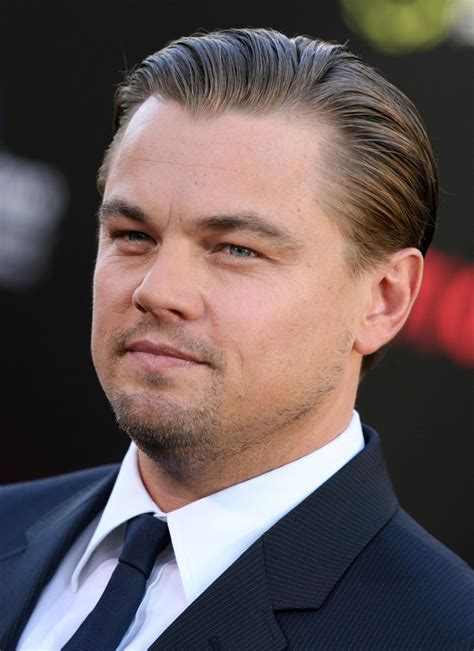 leonardo dicaprio  inception los angeles premiere zimbio