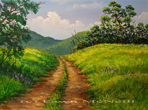 Easy Landscape Pictures To Paint Easy Landscape Paintings For Beginners Pictures To Pin On