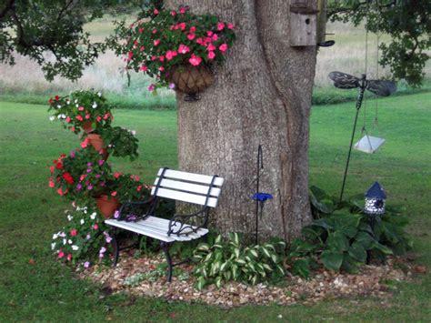 Tree Garden Ideas 10 Ideas Originales Para Jardines Trees The Tree And Flower