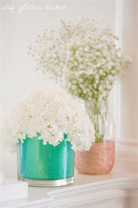 Diy Vase by Diy Glitter Vases The Sweetest Occasion The Sweetest Occasion