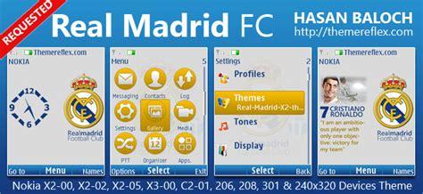 realmadrid themes for nokia c2 real madrid fc theme for nokia x2 00 x2 02 x2 05 x3 00