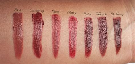 lip color for brown skin brown crushed lip color lipsticks swatches