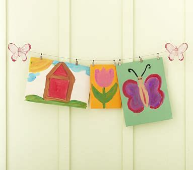 curtain wire system pottery barn butterfly art cable system pottery barn kids