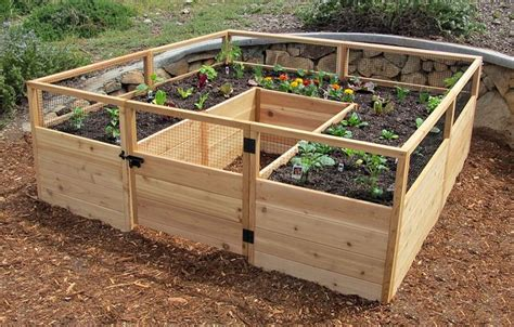best 25 cedar raised garden beds ideas on