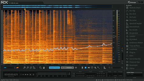 Izotope Rx 5 Advanced promotion sur les suite de restauration audio izotope rx 5 advanced in et suite en avril