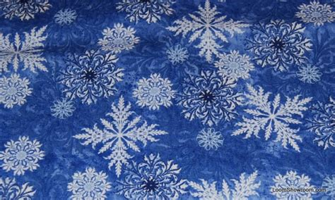 snowflake pattern material snowflake wendy christmas crystal cotton fabric quilt