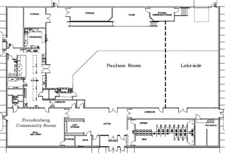 floor plan event floor plan for the prairie event center in mn