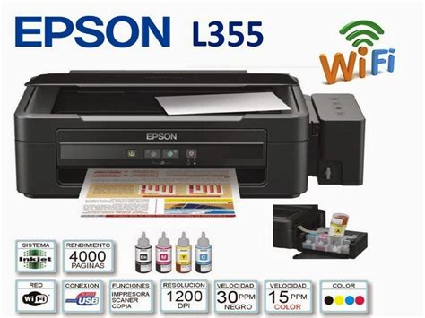 Printer Scan Copy Murah jual epson l355 print scan copy wifi digital cross