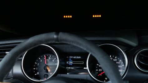 Shift Indicator Light Not Working by Ford Mustang Shelby Gt350 Up Display Comes With