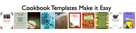 create your own cookbook template top 5 ways cookbook templates make recipes easy and to