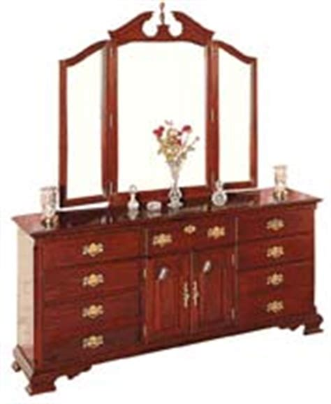 cherry triple dresser bedroom cherry bedroom furniture cherry dressers cherry mirrors