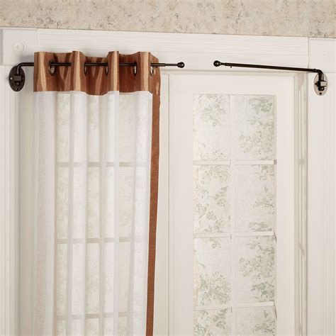 swing french door curtain rod swing arm curtain menzilperde net