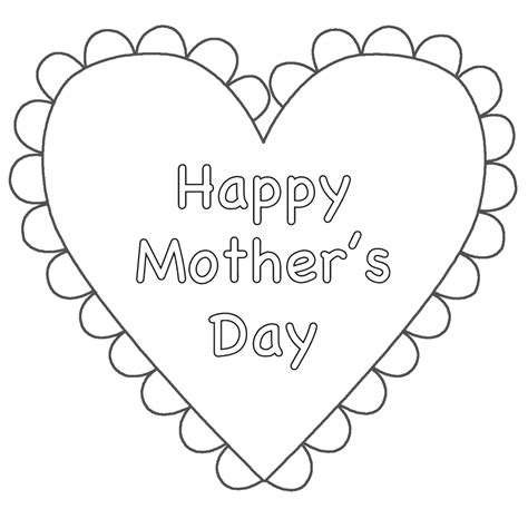 cute coloring pages for mother s day mothers day color sheets kids coloring
