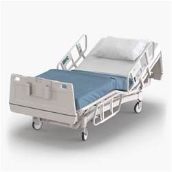 mattress for hospital bed hospital bed 2 3d model