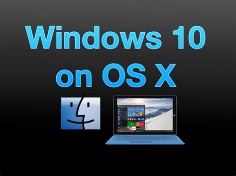 install windows 10 mac windows 10 technical preview how to install on mac via