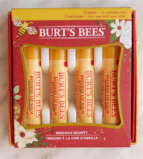 Burt S Bees A Bit Of Burt S Bees burt s bees chapstick gift sets gift ftempo