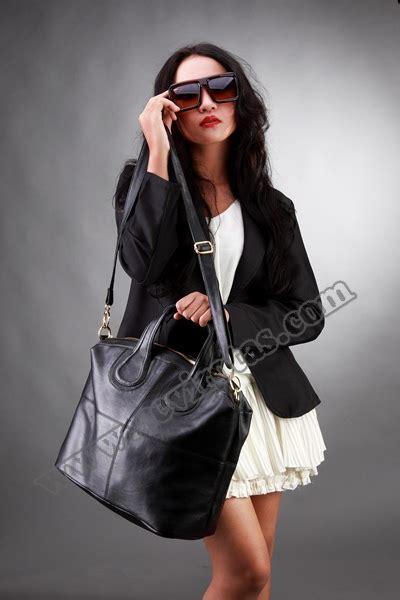 Tas Hitam Kulit Tebal Kokoh High Quality Bagus C N K Gucci Prada Cewek tas wanita givenchy yantul07