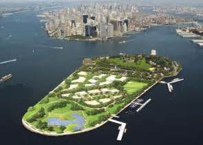 Island Ny Governors Island S New Park Flying Robotic Journalism