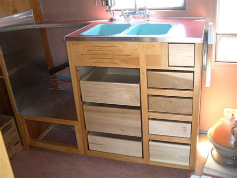 Airstream Cabinets by Custom Airstream Cabinets Airstream Remodel Ideas