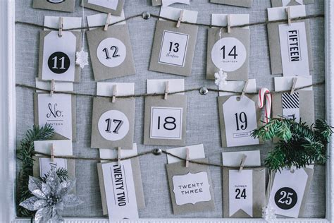 simple advent calendar to make easy to make advent calendar if only april