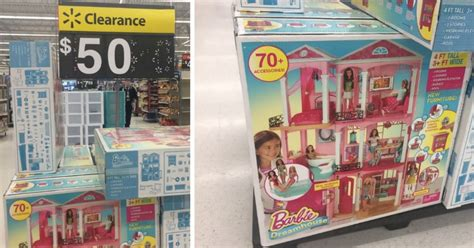 barbie dream house at walmart walmart clearance barbie dreamhouse possibly only 50