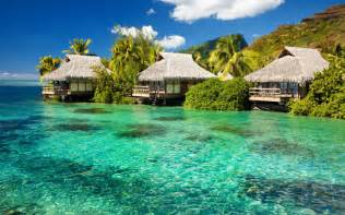 Tiki Hut Vacation Fiji Island In The Pacific