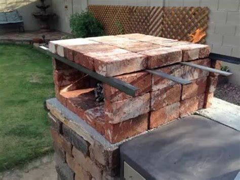 diy pit pizza oven diy portable brick pizza oven is an easy at home low cost