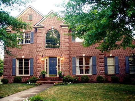 exterior paint colors with brick exterior paint colors with red brick give your house a