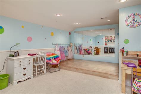 ballet room theme ideas for little girls rooms off the wall children s bedrooms traditional kids minneapolis