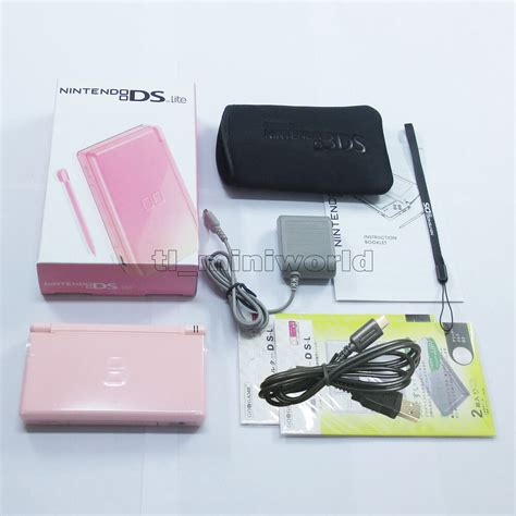 console nintendo ds brand new coral pink nintendo ds lite handheld console