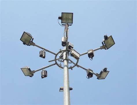 led high mast light high mast lighting