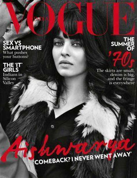 Vogue India by Aishwarya On Vogue India March 2015