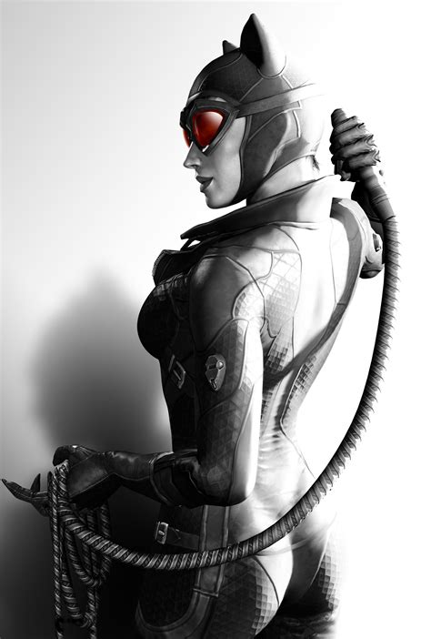 What Is My Up by Artstation Catwoman Batman Arkham City Greg Huber