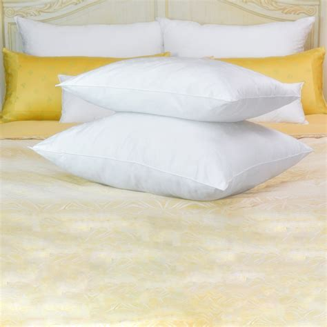 luxury bed pillows luxury standard bed pillow for all fine pillow