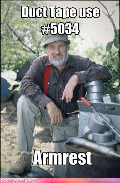 Handyman Meme - red green pbs funny meme duct tape random funny