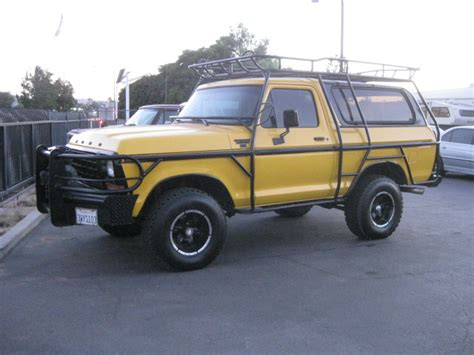 Ford Fairmont Interior 1979 Ford Bronco Overview Cargurus