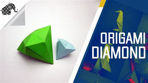 How To Make Diamonds Out Of Paper - origami how to make an origami