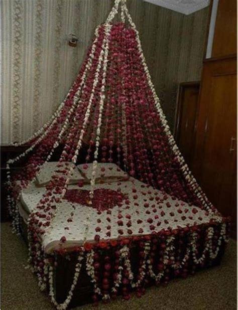 Romantic Bedrooms Ideas beautiful bridal room decoration masehri with flowers in