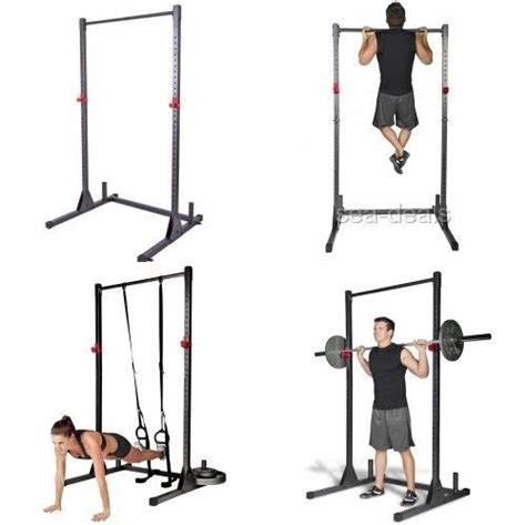 deadlift squat bench workout pull up bar exercise stand deadlift curl squat home
