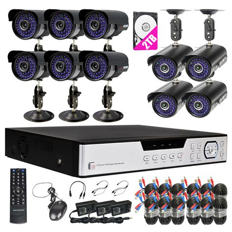 1 Set Cctv Outdoor dowson 720p 16ch 3 in 1 nvr ahd dvr outdoor cctv home