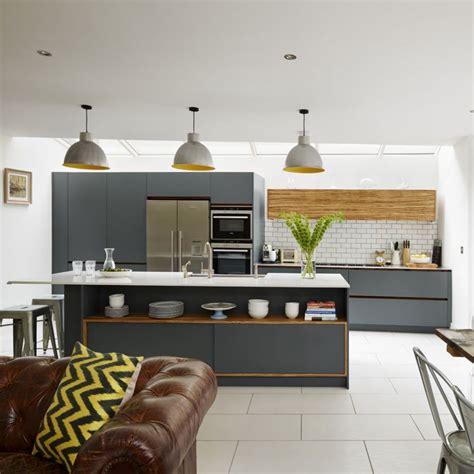 kitchen design ideas open plan kitchen design ideas ideal home