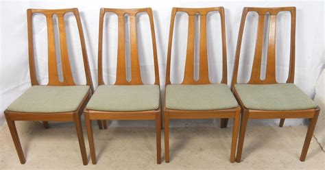 Nathan Dining Chairs Set Of Four Teak Retro Dining Chairs By Nathan Sold