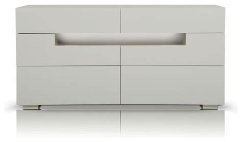 ceres contemporary led white gloss dresser modern