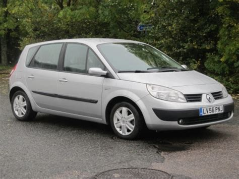 renault silver used silver renault scenic 2006 petrol excellent condition