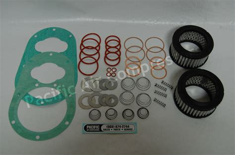 kellogg 462 a overhaul kit 79451 gasket valve 49095 air compressor part pacific air
